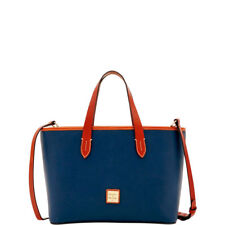 Dooney & Bourke R0945MD BRANDY Midnight Blue Purse Tote Bag NWT