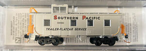 n scale MTL Southern Pacific Overnight PMT 36' Cupola Caboose SP #1096 TOFC