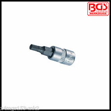 "BGS - 1/4 "" - Interior Hexagonal, Llave Allen - 4 Mm-Bits Socket-Pro gama - 2498"