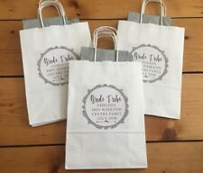 Personalised Hen Party Glitter Frame Gift Bags, Favour