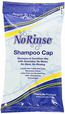 NEW - No Rinse Shampoo Cap - Cleanlife Products - FREE SHIPPING