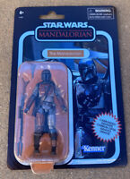 "Star Wars Vintage Collection Carbonized Mandalorian 3.75"" Figure *SHIPS NOW*"