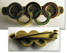 Olympic Games Amsterdam 1928 Commemorative Pin badge Olympiad