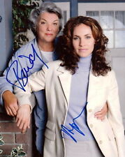 JUDGING AMY.. Tyne Daly with Amy Brenneman - SIGNED
