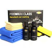 1 Set(2) 9H Líquido Coche Cristal Capa Kit de Del Auto Nano Repelente al Agua