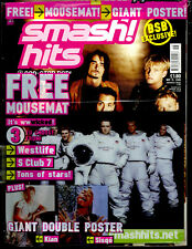 SMASH HITS 2000 NICKY BYRNE SHANE S CLUB 7 BSB BILLIE BEYONCÉ DESTINY'S CHILD A1