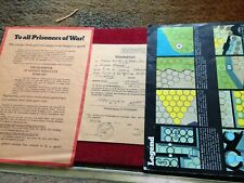 Original Vintage Parker Escape From Colditz Instructions - Board Game