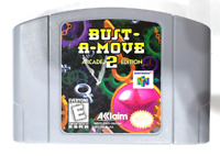 Bust A Move 2 Arcade Edition NINTENDO 64 N64 Game Tested + Working & AUTHENTIC!