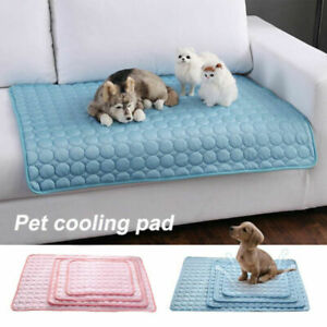 Cold Summer Cooling Gel Dog Pet for Pad Comfortable Puppy Cushion UK New Cat Mat