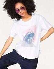 Bench Maglietta T-Shirt Fragola Grafico Stampa Maglietta Bianco NUOVO CON