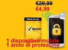 Norton Mobile Security 2020 1 dispositivo mobile - 1 anno ANDROID e IOS