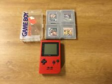 Nintendo Game Boy Color rot + 4 Spiele