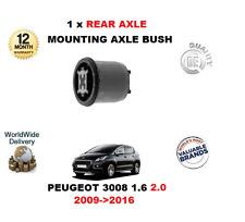 pour Peugeot 3008 THP 1.6 VTI 2.0 HDI 2009- >2016 1 x ESSIEU ARRIÈRE support