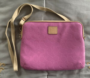 Coach Pink Tablet Case Brand New $128