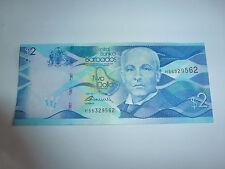 billet de barbados,2 dollars état neuf voir photo