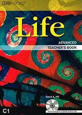 CENGAGE & NG Learning LIFE Advanced TEACHER'S Book +STUDENT'S Book Audio CD New