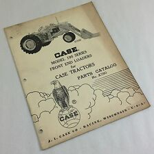 J I Case Model 190 Series Front Loaders For Case Tractors Parts Catalog Manual
