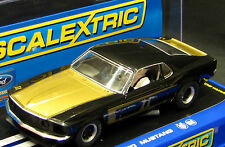 SCALEXTRIC C3230 FORD MUSTANG BOSS 302 SMOKEY YUNICK LIMITED EDITION  1/32