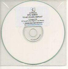 (804D) Stu Hirst, Clap Snare Repeat - DJ CD