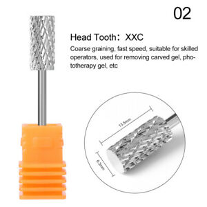 Nail Art Drill Bit eaning Polishing Electric Machine Files Remover Nails Tools