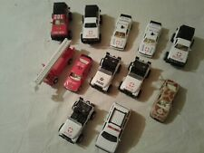 12  Pull Back N Go Police and Emergency Diecast Cars