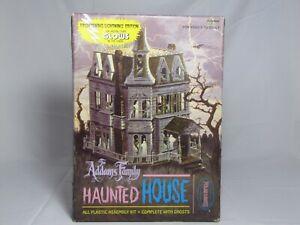 THE ADDAMS FAMILY HAUNTED HOUSE Model Kit 1995 Polar Lights #5002 T734 Halloween