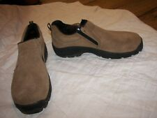 Stone Creek Slip-On Suede Shoes - Mesa Jr. - Size 6.0