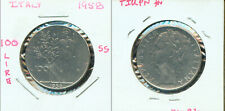 WORLD COINS  -  ITALY 1958 100 Lire   (2G221) Tough Date