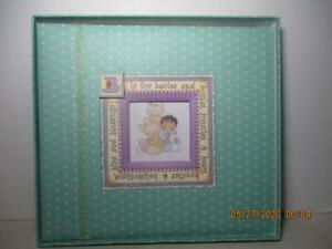 Janie Dawson Baby Scrapbook Keepsake Kit New In Plastic Cover But Opened