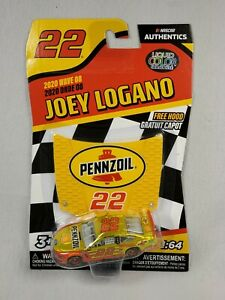 Nascar Authentics 2020 Joey Logano Shell Ford Mustang Wave 8 Liquid Chase