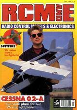 RADIO CONTROL MODELS & ELECTRONICS MAGAZINE 1993 MAY SIMON DELANY'S CESNA 02-A