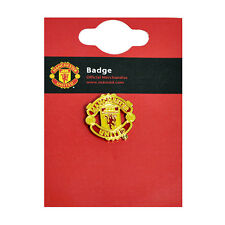 MANCHESTER UNITED FC CLUB ENAMEL CREST PIN BADGE FOOTBALL CLUB NEW GIFT XMAS