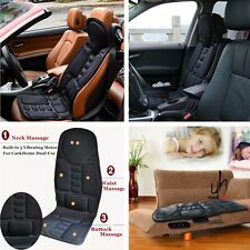 Universal DC 12V Portable Car Chair Massage Heat Seat Support Vibration Massager