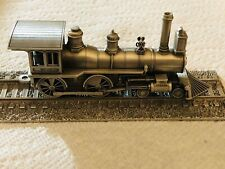 Danbury Mint Handcrafted Pewter Replica Union Pacific 199 Steam Locomotive.