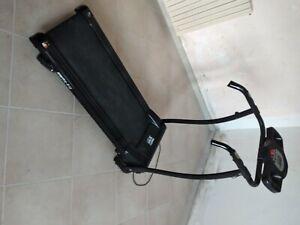 Everfit TFK 450 Tapis Roulant con Sistema Ammortizzante - Nero