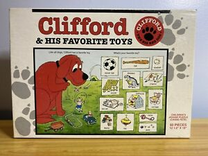 "NEW Sealed Vintage Clifford ""The Big Red Dog"" 1992 Jigsaw Puzzle - 60 Pieces"