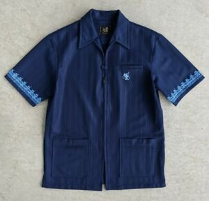 Vintage 1970s Iolani Hawaiian Shirt Talon Zipper sz M