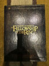 The Lord Of The Rings - Fellowship of the Ring (DVD, 4-Disc Set, Extended) R1