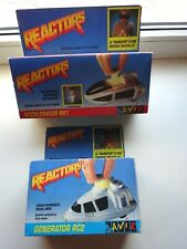 Ancien Jouet. Reactors. Reactors Savie, RS1 - RC2. 1988. Vintage Toys Lot new