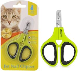 Best Pet Nail Clippers & Claw Trimmer for Cat Tiny Dog Rabbit Bird Small Animals