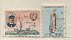 Kap Verde 1967 MiNr.: 343; 344 gestempelt  Cabo Verde used