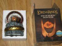 Nerd Block Lord of the Rings Eye of Sauron Snow Globe
