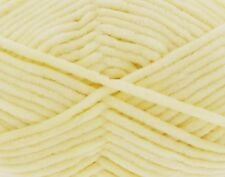 King Cole Yummy Chunky Yarn 2220 Lemon 100g Ball