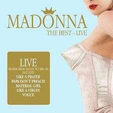 CD de musique pop rock Madonna avec compilation