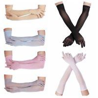 Gants de Collants de Mariage sans couture pour Femme Gants de Soirée Transparent