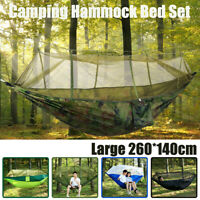 Double Person Outdoor Travel Camping Tent Hanging Hammock Bed Mosquito Net