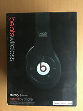 Beats Studio Wireless OverHead Headphone Black New