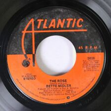 Rock 45 Bette Midler - The Rose / Stay With Me On Atlantic