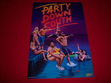 licensed PARTY DOWN SOUTH poster - CMT reality tv series - USA made - NEW