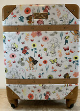 """New Disney Store ANIMATORS' COLLECTION ROLLING LUGGAGE 21"""" Parks Hard"""